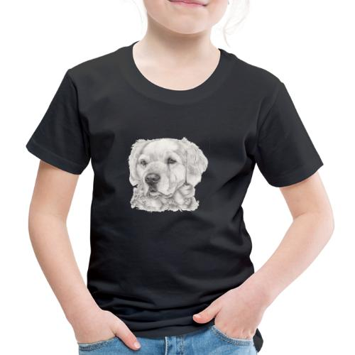 golden retriever - Børne premium T-shirt