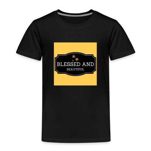 blessed and beautiful xx - Kids' Premium T-Shirt