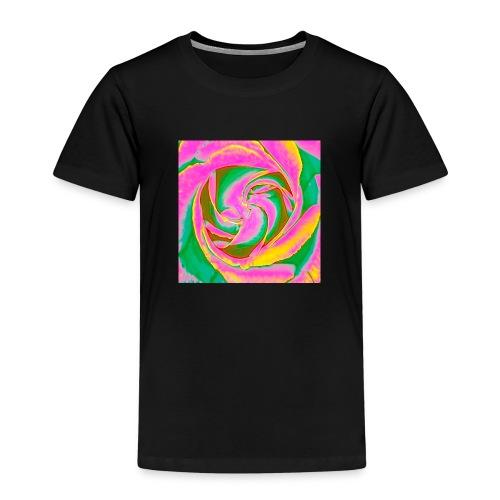 Psychedelic Rose - Kids' Premium T-Shirt