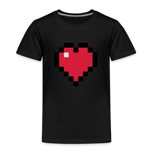 Pixelart Heart - Kids' Premium T-Shirt