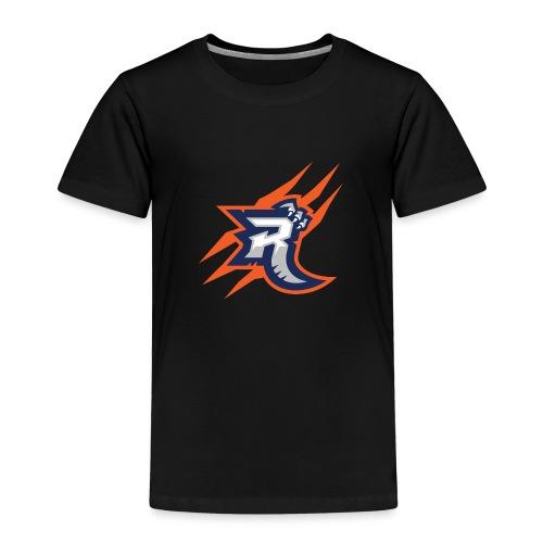 R with Clawmarks - Kinderen Premium T-shirt
