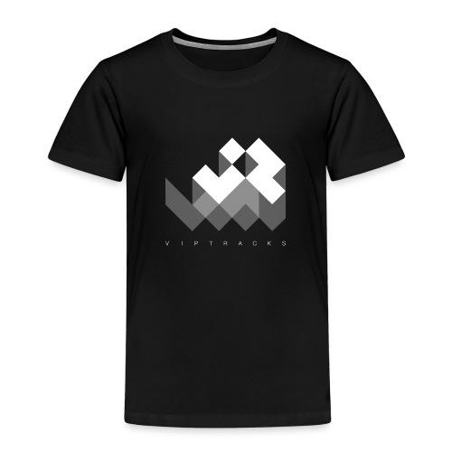 LOGO VIPTRACKS RELEASES - Kinderen Premium T-shirt