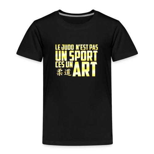 Le T-Shirt du Judoka ! - T-shirt Premium Enfant
