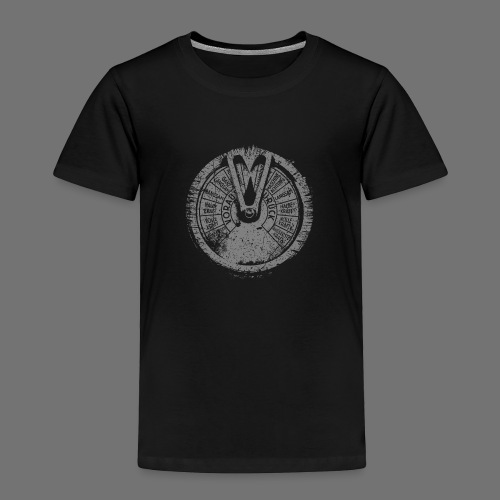 Maschinentelegraph (gray oldstyle) - Kids' Premium T-Shirt