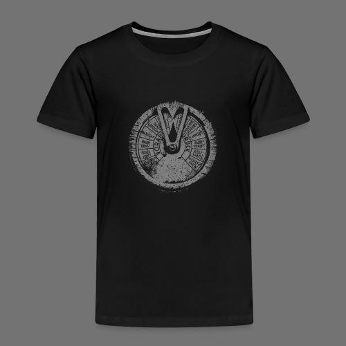 Maschinentelegraph (harmaa oldstyle) - Lasten premium t-paita