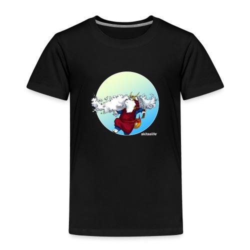 Akita Samurai Sky T-shirt - Kids' Premium T-Shirt