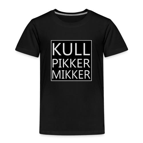 Kullpikker mikker groot s - Kinderen Premium T-shirt