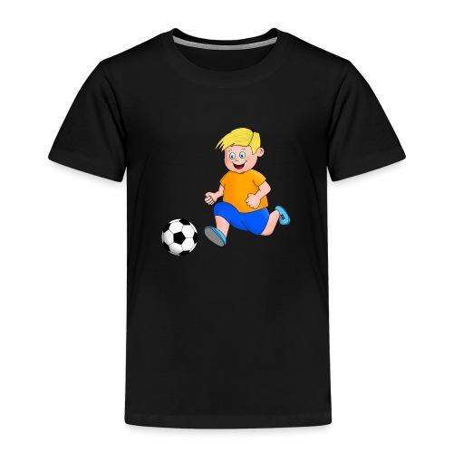 Junger Fußballer - Kinder Premium T-Shirt