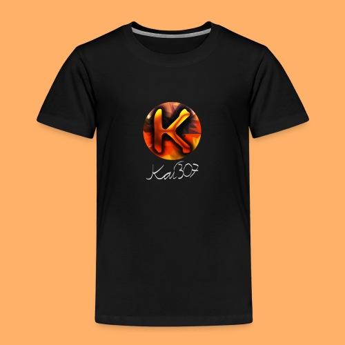 Kai_307 - Profilbild + Unterschrift Weiß - Kinder Premium T-Shirt