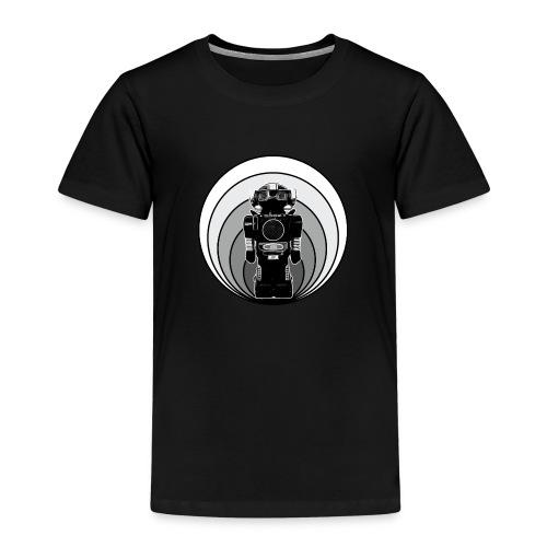 Cooles 80er Retro Roboter T-Shirt Scifi Geschenk - Kinder Premium T-Shirt