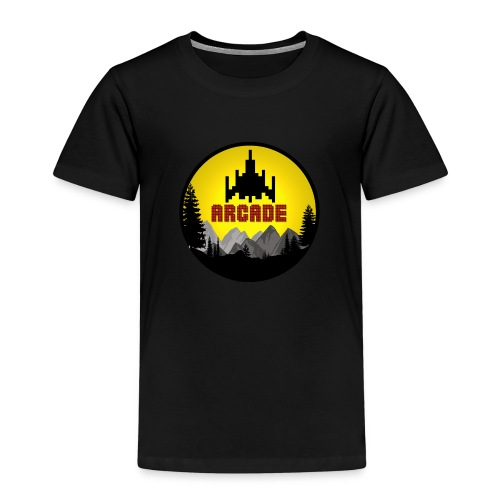 Cooles Vintage Gamer Arcade T-Shirt Old School Fun - Kinder Premium T-Shirt