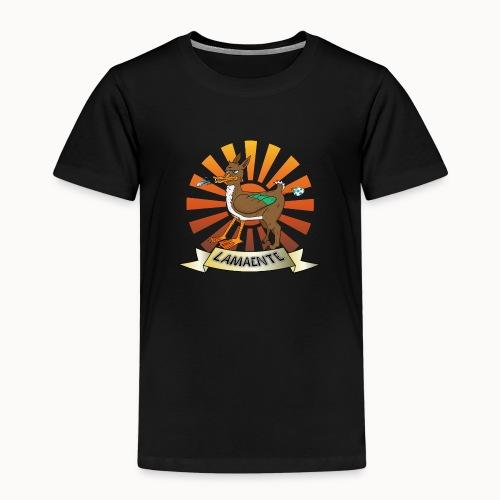 Lamaente - Kinder Premium T-Shirt
