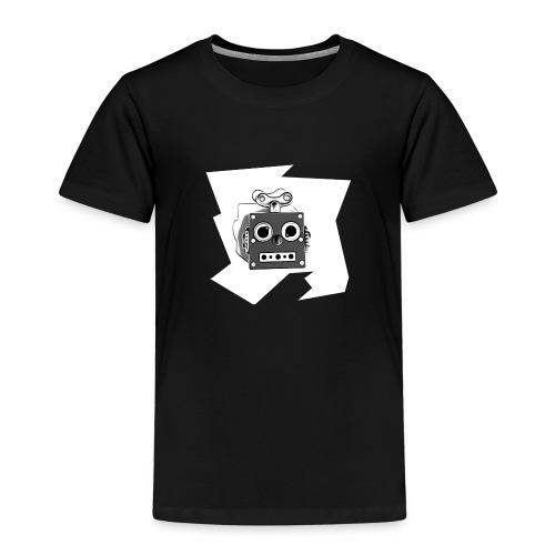 Cooles lustiges Sci-Fi T-Shirt mit vintage Robobot - Kinder Premium T-Shirt
