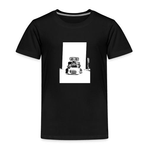 Vintage Retro Roboter Bot Robot Scifi T-Shirt - Kinder Premium T-Shirt