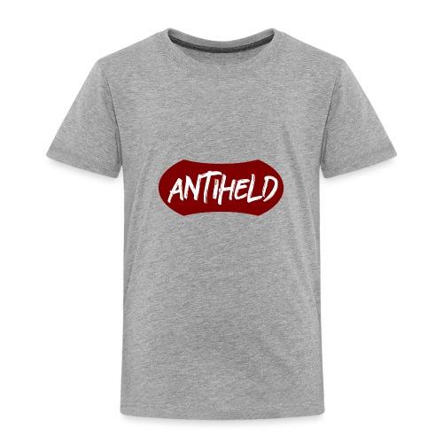 Antiheld Typografie Wappen - Kinder Premium T-Shirt