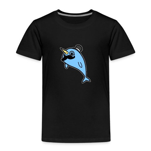 Narwal Gentleman - Kinder Premium T-Shirt