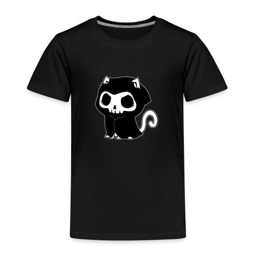 Sensenmann Katze Miau - Kinder Premium T-Shirt