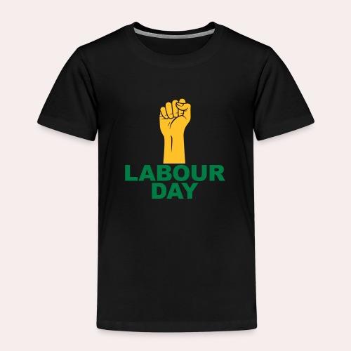 Día del trabajo / Puño en alto - Camiseta premium niño