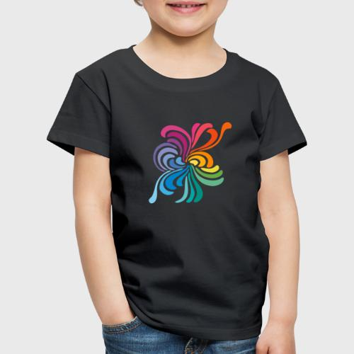 Fleurs multicolore - T-shirt Premium Enfant