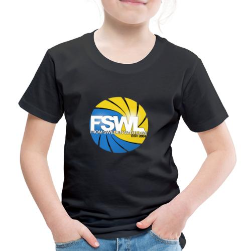 Transparent logo for From Sweden With Love (FSWL). - Premium-T-shirt barn