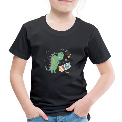 DINO MUSIC 1 - Camiseta premium niño