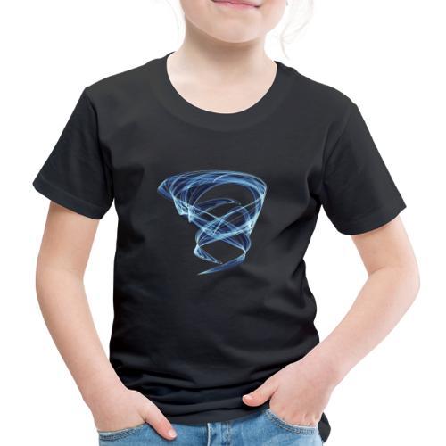Chaotischer Eis Wasser Wirbelwind 11387ice - Kinder Premium T-Shirt