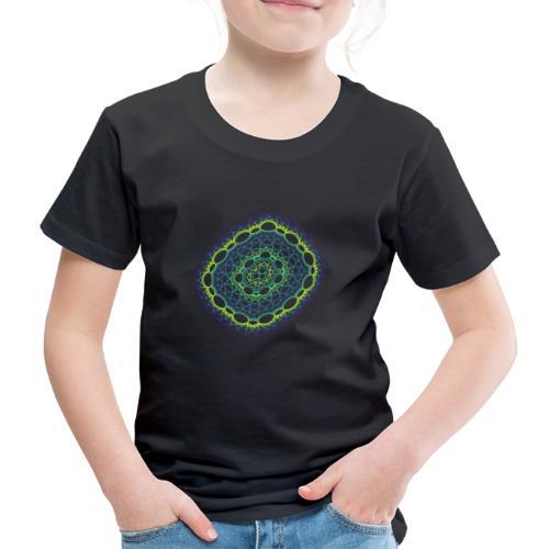 Smaragdgewebe gesponnen aus dem Chaos 5320viridis - Kinder Premium T-Shirt