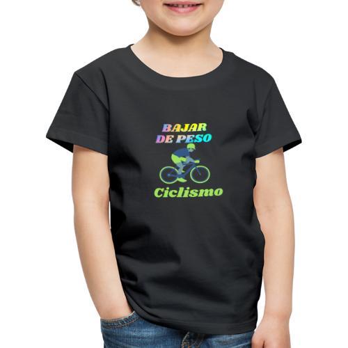 Ciclismo para perder peso - Camiseta premium niño