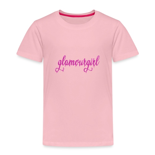 Glamourgirl dripping letters - Kinderen Premium T-shirt