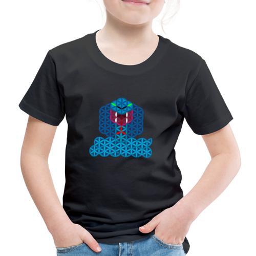 The Snake Of Life - Sacred Animals - Kids' Premium T-Shirt