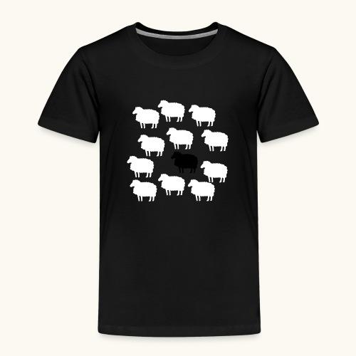 Lustige Schafherde Schwarzes Schaf Geschenkidee - T-shirt Premium Enfant