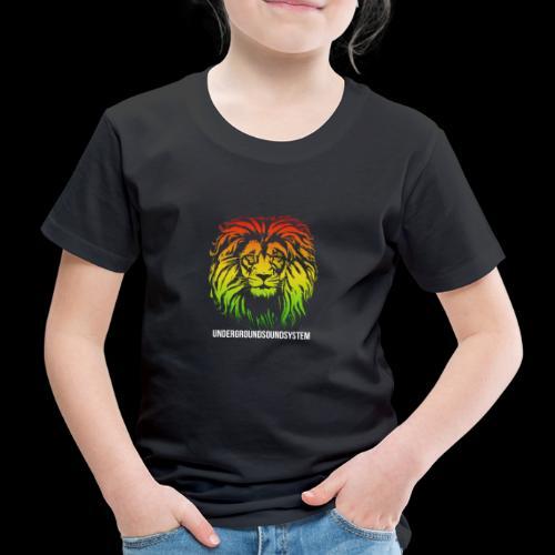 LION HEAD UNDERGROUNDSOUNDSYSTEM AUSTRIA - Kinder Premium T-Shirt