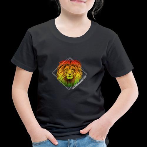 LION HEAD - UNDERGROUNDSOUNDSYSTEM - Kinder Premium T-Shirt
