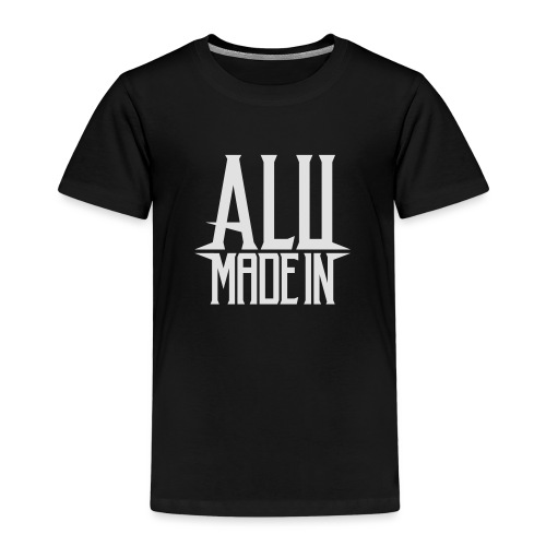 logo_alumadein_vecto_blan - T-shirt Premium Enfant