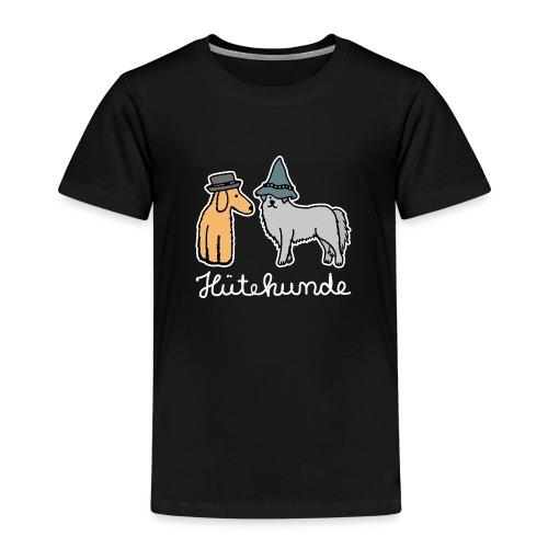 Hütehunde Hunde mit Hut Huetehund - Kinder Premium T-Shirt