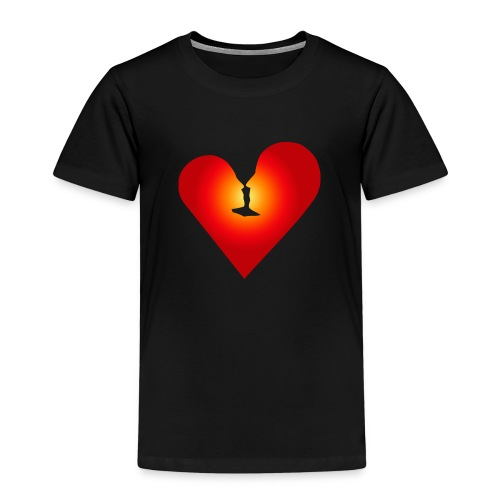 Ein Herz in Liebe - Kinder Premium T-Shirt