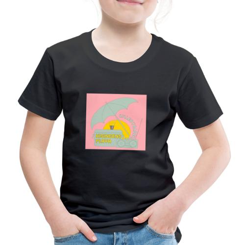 Hisingens playa pink - Premium-T-shirt barn
