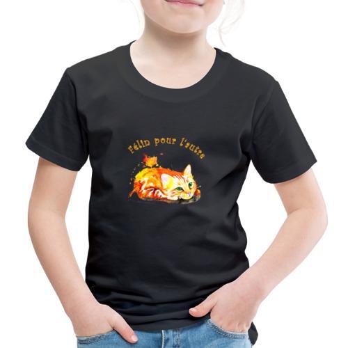 Chat roux,Félin pour l'autre - T-shirt Premium Enfant