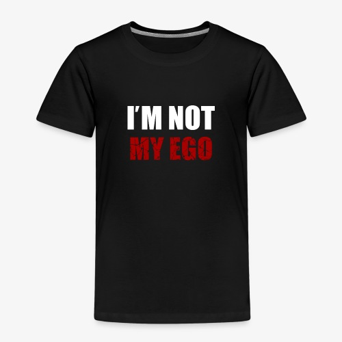 I' M NOT MY EGO - Maglietta Premium per bambini