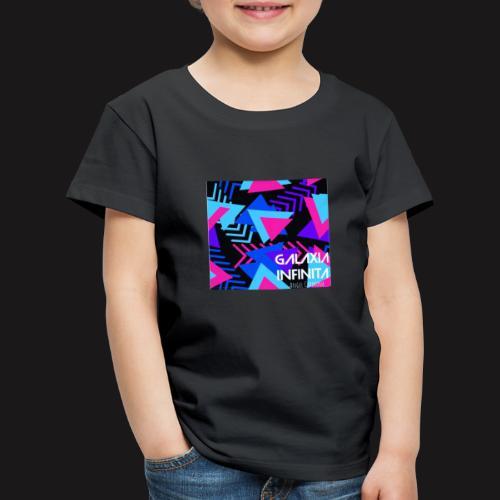 Sencillo Galaxia Infinita - Camiseta premium niño