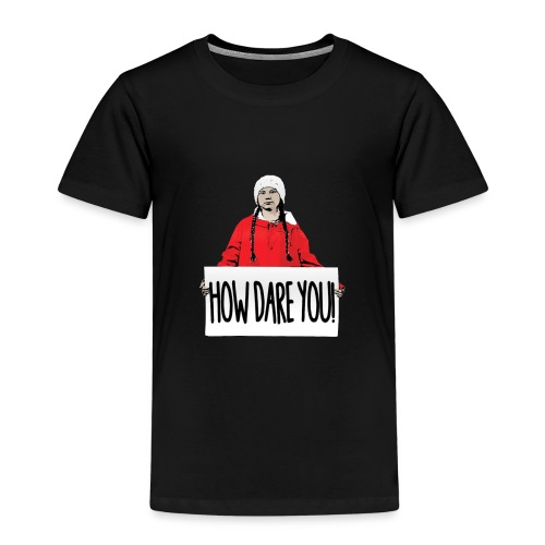 skolstrejk For klimatet - Premium-T-shirt barn