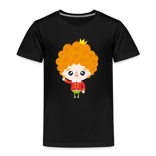 Nando waving - Kids' Premium T-Shirt