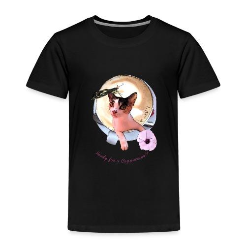Ready for a cappuchino? - Kids' Premium T-Shirt