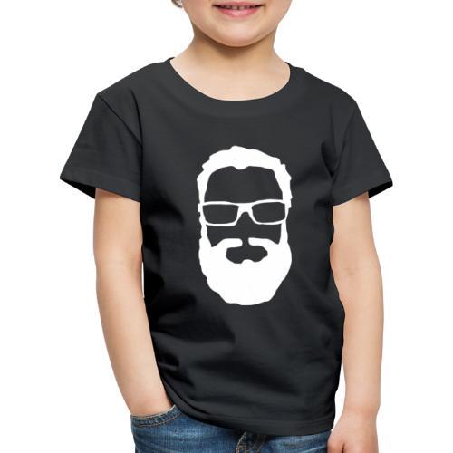 Dennis Logga Vit - Premium-T-shirt barn
