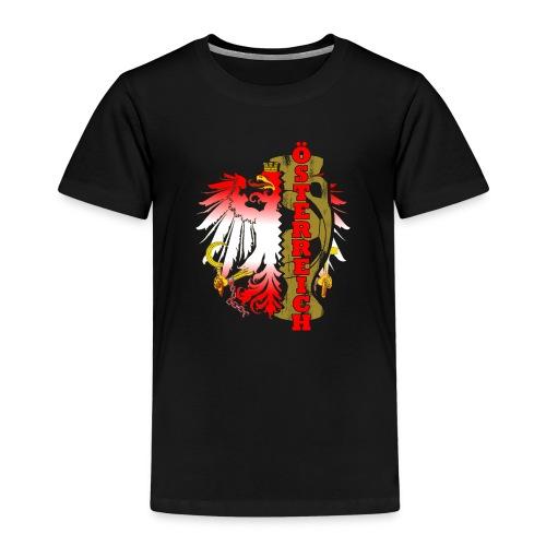 Öesterreich Heimat Fussball Fan Nationalteam - Kinder Premium T-Shirt