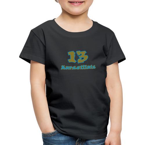 fier marseille blanc 03 - T-shirt Premium Enfant