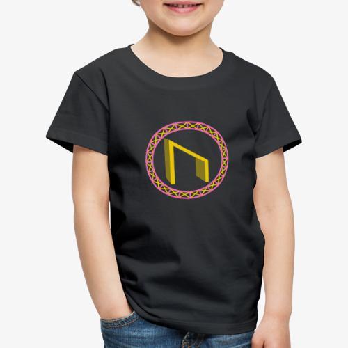 Uruz im Kreis - Kinder Premium T-Shirt