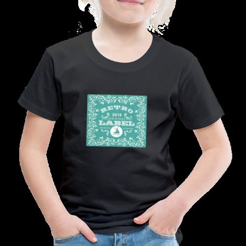 geweihbär RETRO 2018 - Kinder Premium T-Shirt
