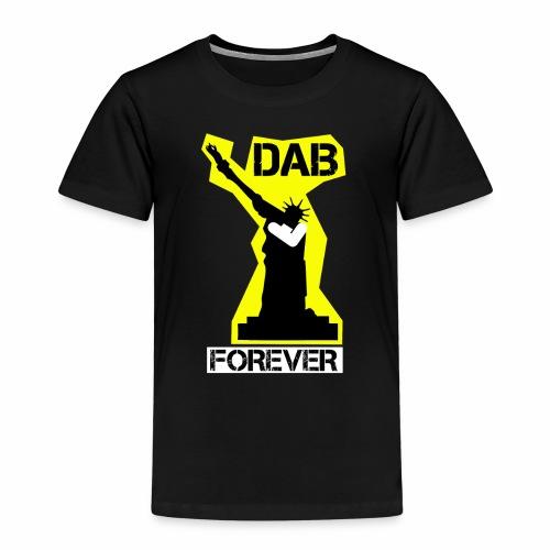 DAB FOREVER STATUE OF LIBERTY- YELLOW - Maglietta Premium per bambini