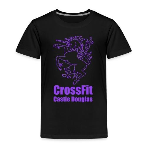 Purple Logo - Kids' Premium T-Shirt